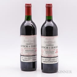 Chateau Lynch Bages 1990, 2 bottles