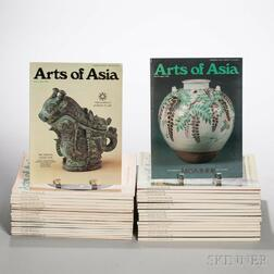 Group of Arts of Asia   Magazines