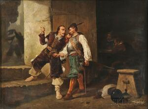 Victor Nehlig (French/American, 1830-1909)      The Bargain