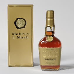 Makers Mark Limited Edition, 1 750ml bottle (oc)
