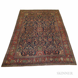Antique Ferehan Sarouk Carpet