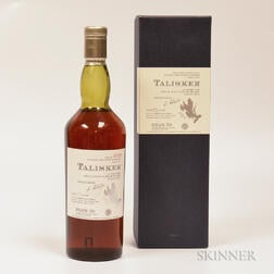 Talisker 25 Years Old 1975, 1 750ml bottle (oc)
