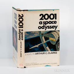 Clarke, Arthur C. (1917-2008) 2001 A Space Odyssey  , First Edition with Signed Card.