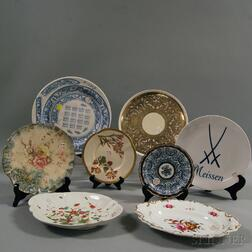 Eight Assorted Ceramic Dishes