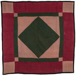 Geometric Pattern Amish Quilt