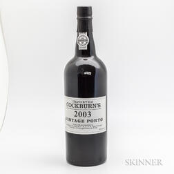 Cockburn Vintage Port 2003, 1 bottle