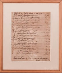 Documents Related to American Slavery, Three Examples, 1765-1824.