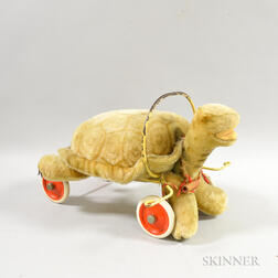Steiff Ride-on Turtle Pull Toy