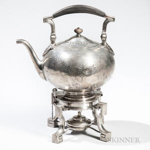 Ball, Black & Co. Sterling Silver Kettle-on-Stand