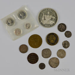 Small Group of British Coins