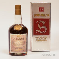 Springbank Gold Seal 25 Years Old, 1 750ml bottle (oc)