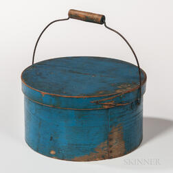 Sky Blue-painted Covered Pantry Box