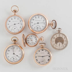 Six American Watches