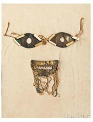 Tumbaga Eye and Mouth Mask