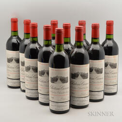 Chateau Canon 1982, 11 bottles