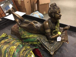Austrian Bronze Cold-painted Erotic Figure