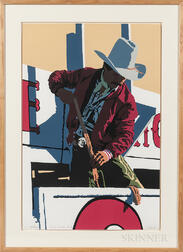 Bill Schenck (American, b. 1947)      Red Rodeo Rider