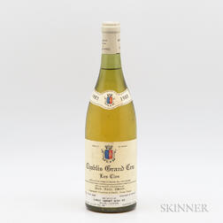 Jean Paul Droin Chablis Le Clos 1982, 1 bottle