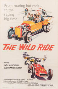 """""""The Wild Ride"""" One Sheet Movie Poster"""