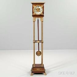 Gilt-bronze-mounted Floor Clock