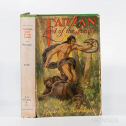 Burroughs, Edgar Rice (1875-1950) Tarzan Lord of the Jungle  , First Edition.