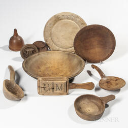 Ten Wood Kitchen Items