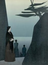 Will Barnet (American, 1911-2012)      Way to the Sea
