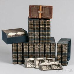 Stereoscopic Views, Keystone View Company, Twelve Volumes, with Electric Viewer.