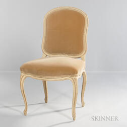 Eight French Provincial-style Dining Chairs