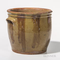 Vermont Slip-decorated Jar