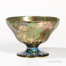 Wedgwood Fairyland Lustre Footed Melba Center Bowl