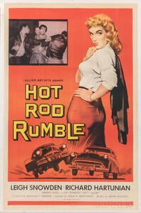 """""""Hot Rod Rumble"""" One Sheet Movie Poster"""