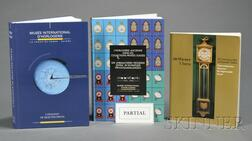 Lot of Books and Catalogues of Private and Public Horological Collections