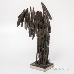David Crissy Packard (1928-1968) Modernist Sculpture Phoenix #11