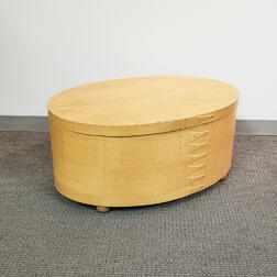 Large Shaker Workshops Bentwood Pantry Box-form Coffee Table