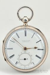 Silver Consular Case Single Roller Watch by Isaac Steane
