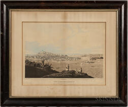 Havell, Robert Jr. (1793-1878) View of the City of Boston from the Dorchester Heights.