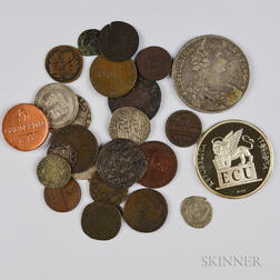 Twenty-seven Venetian Coins and Medals