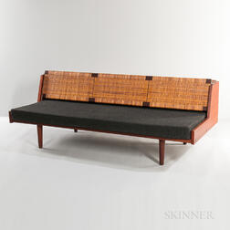Hans Wegner for Getama Teak Caned-back Daybed