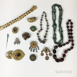 Group of International Costume Jewelry