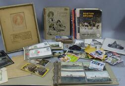 Collection of Postcards and Miscellaneous Ephemera