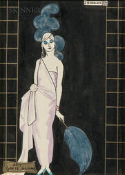 Georges Barbier (French, 1882-1932)    Art, Goût, Beauté