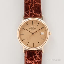 Glycine 14kt Gold Wristwatch