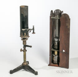 Two Laboratory Lamps