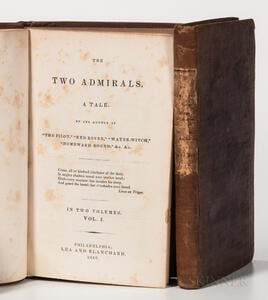 Cooper, James Fenimore (1789-1851) The Two Admirals. A Tale.