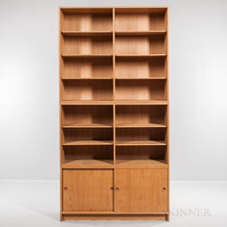 Borge Mogensen for Karl Andersson & Soner Oresund Oak Cabinet and Two Bookshelves