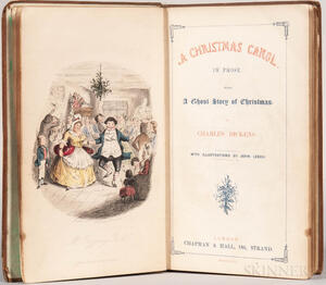 Dickens, Charles (1812-1870) Christmas Carol  , First Edition.