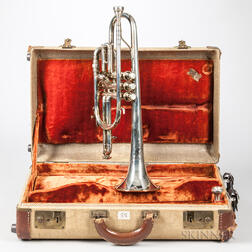 Cornet, King Silver-Sonic by H.N. White Co., Cleveland