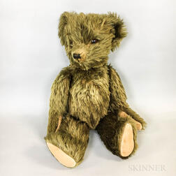 Large Vintage Articulated Teddy Bear