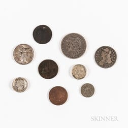 Small Group of American and Colonial Coins